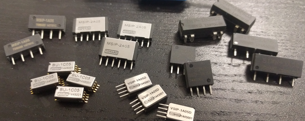 reed relay, components semiconductor test and telecom applications