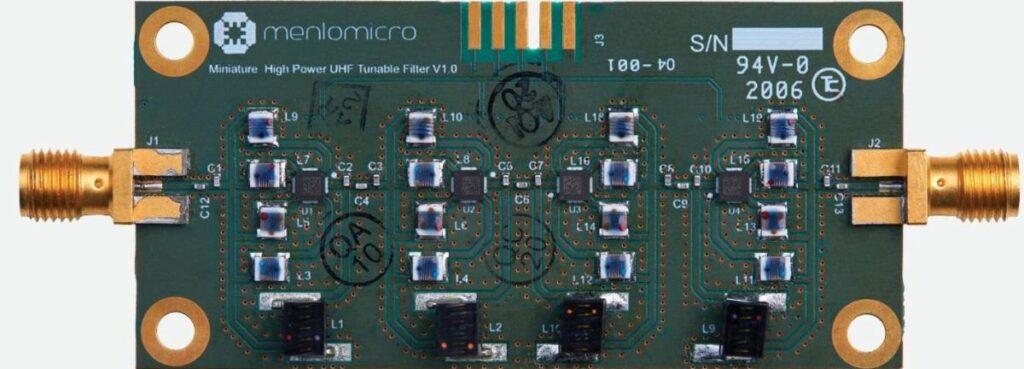 High Power miniaturized UHF filter